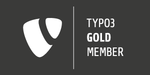TYPO3 Association Gold Member Badge